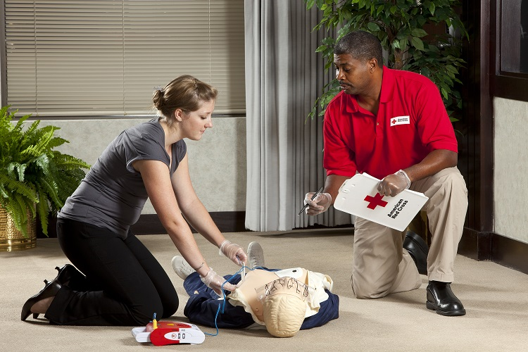 First aid instructor