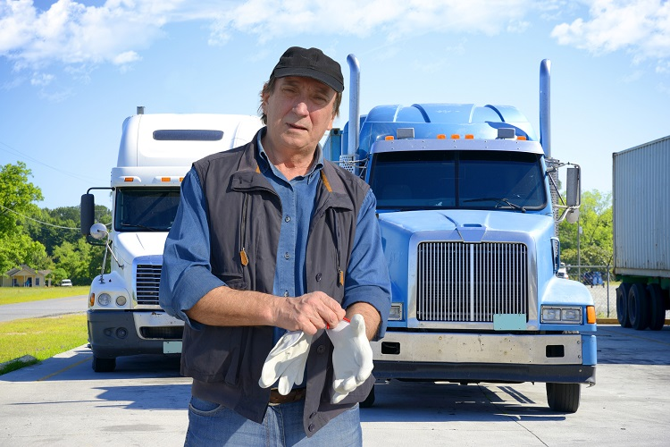 part time truck driver